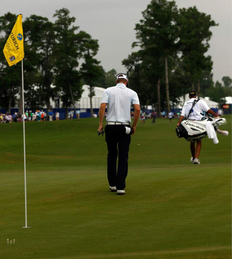 Saturday's Zurich Classic, at a glance _lowres