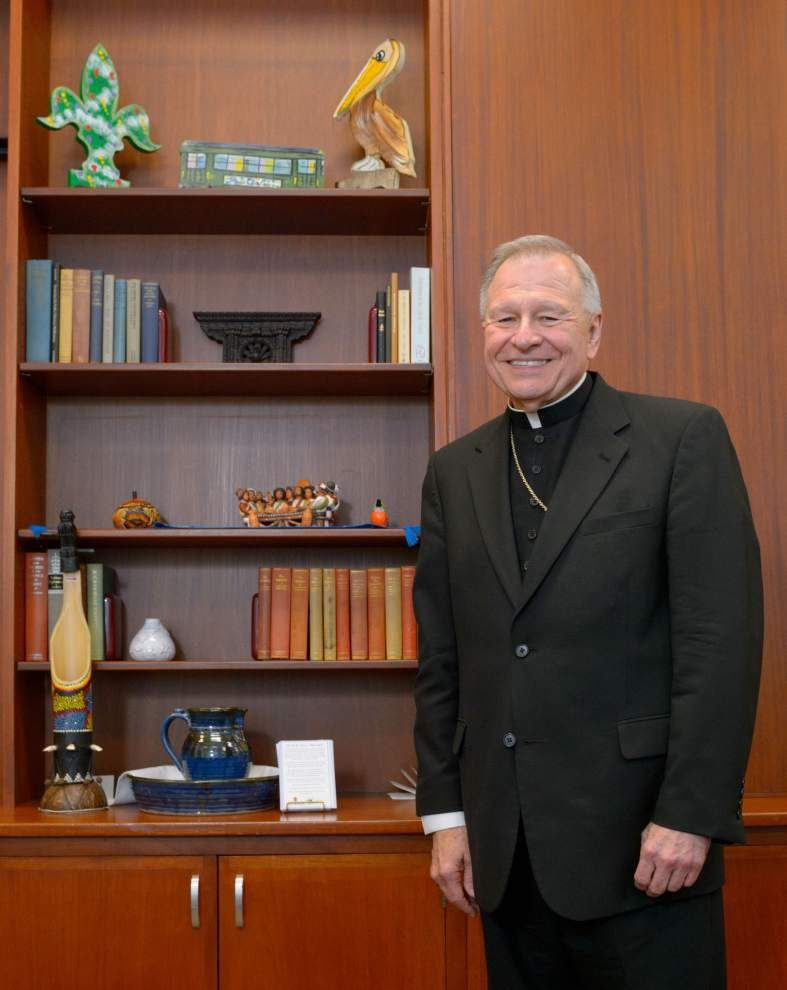 Archbishop announces five goals to emerge from rare local synod; specific goals to be announced in September _lowres