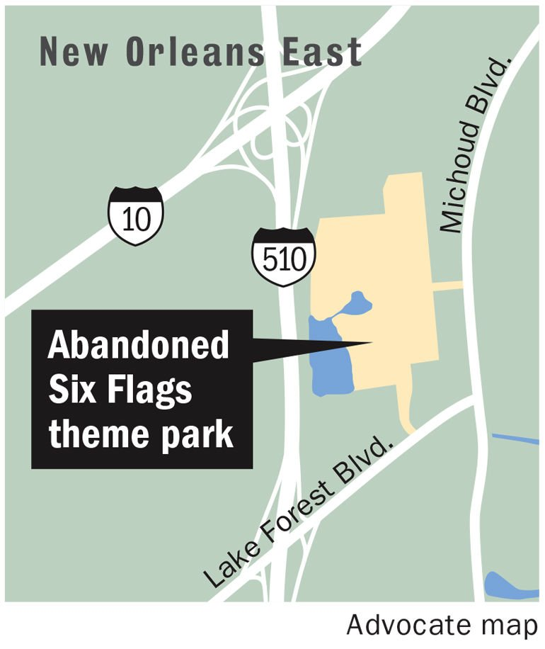 As Funds Dry Up Former Six Flags Siteu0026#39;s 220 Acres Appraised At A Meager $3.26 Million | News ...