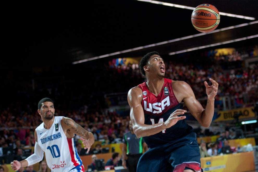 Team USA big men surprisingly dominant _lowres