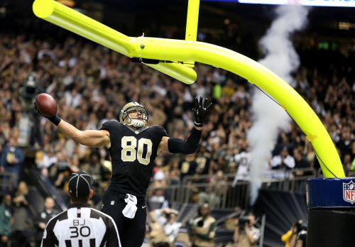 Saints put Jimmy Graham up for military service salute award