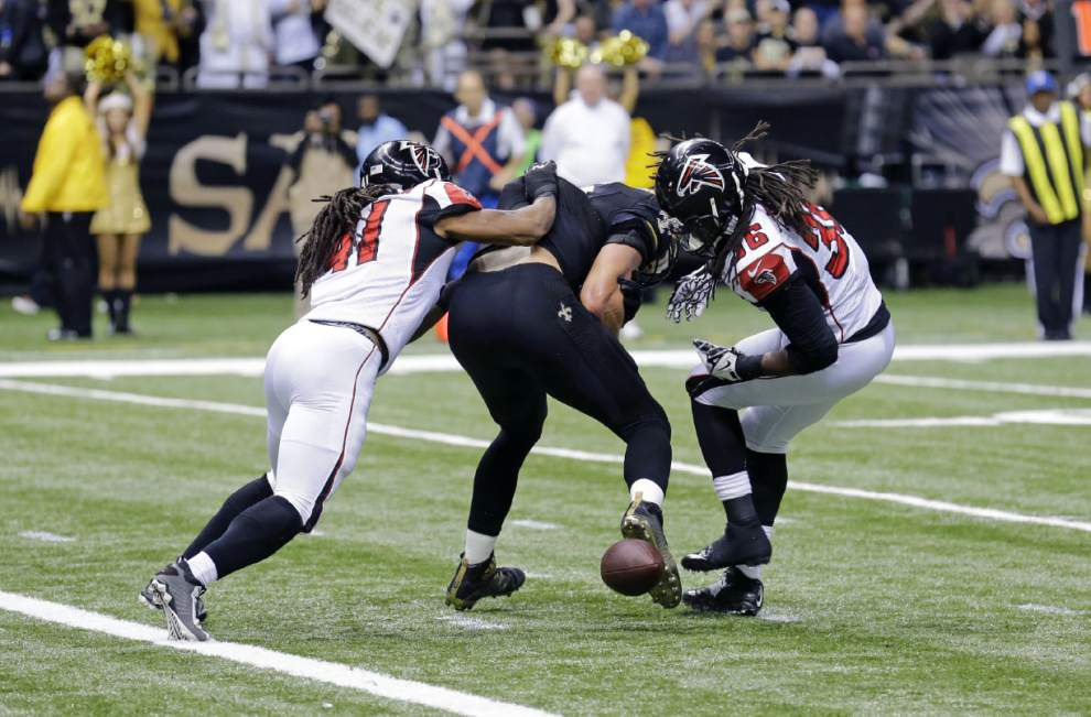 Saints blog: John Parry: Not enough evidence to overturn Jimmy Graham fumble _lowres