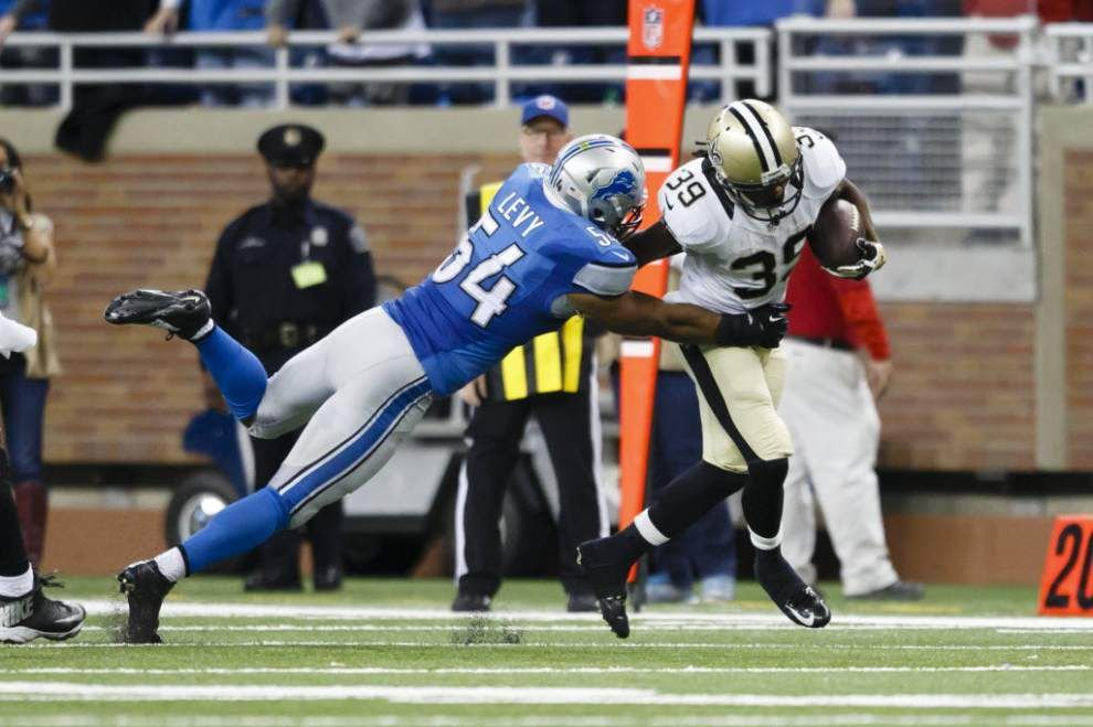 Video: Saints coach Sean Payton says running back Travaris Cadet has developed solid pass-blocking skills _lowres