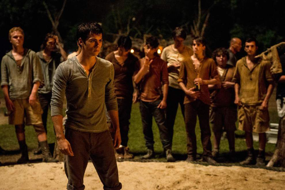 Review: 'Maze Runner' doesn't find its own path _lowres