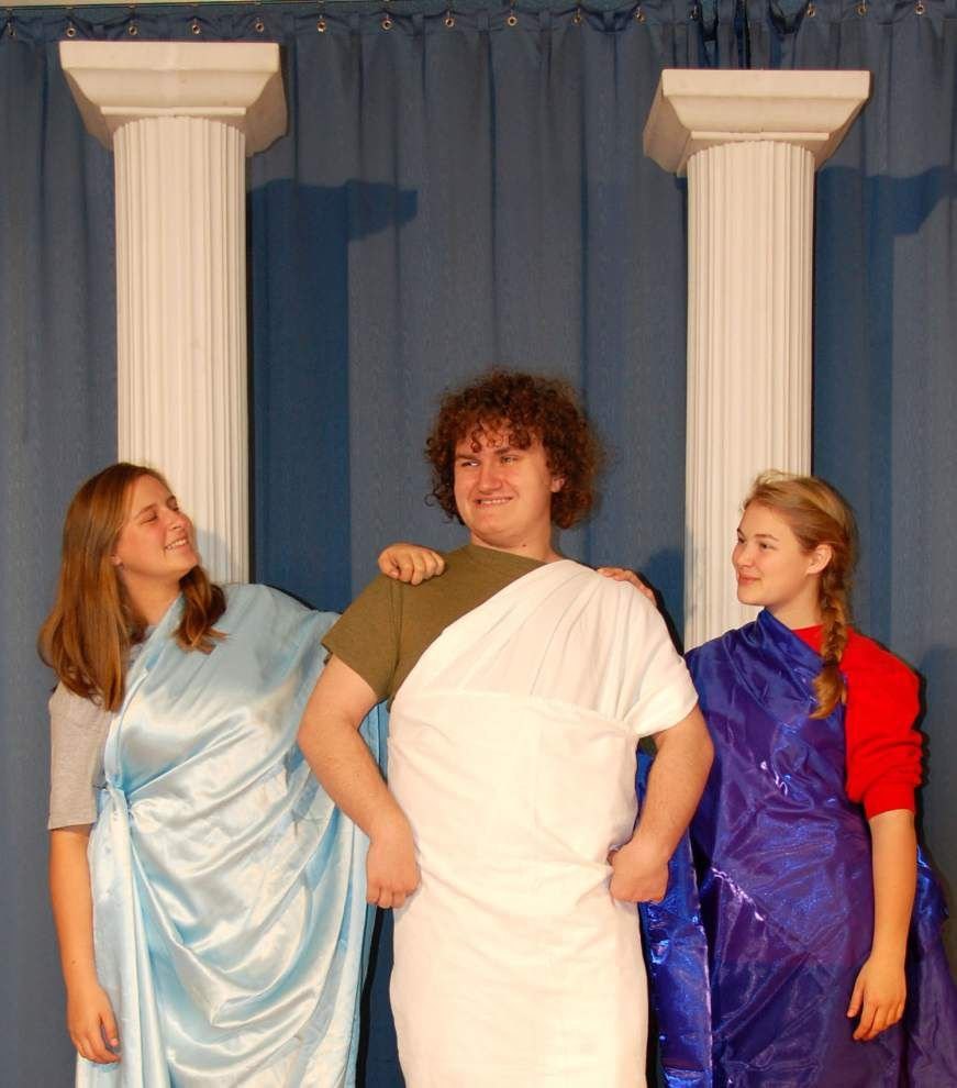 Runnels drama students take on Roman slapstick _lowres