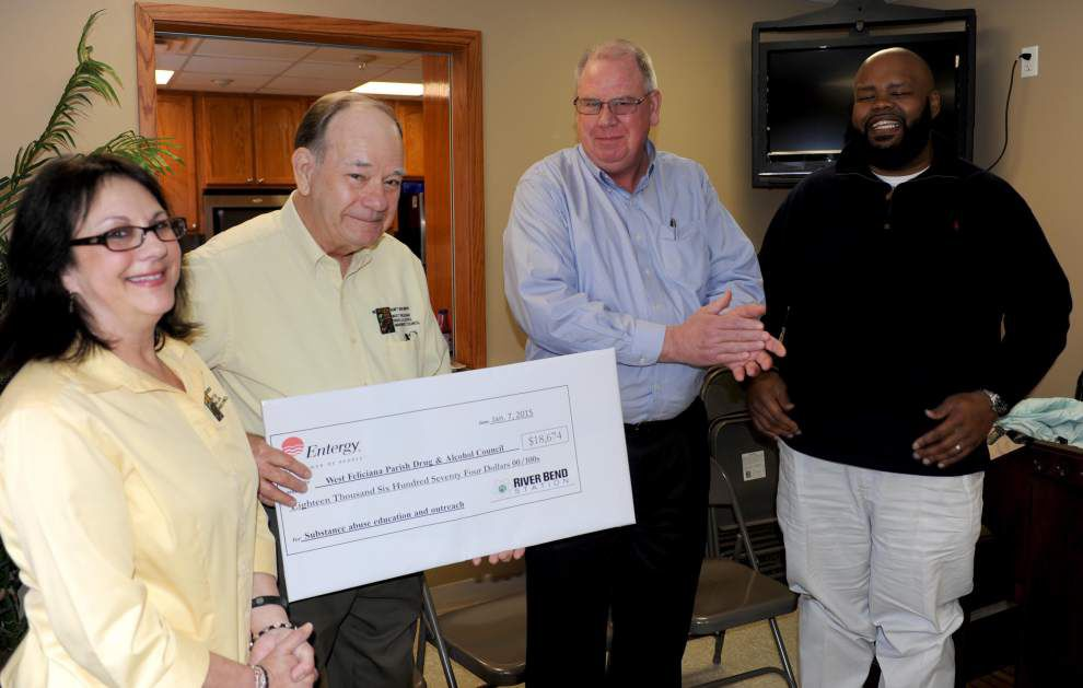 River Bend donation to support BE WISE program _lowres