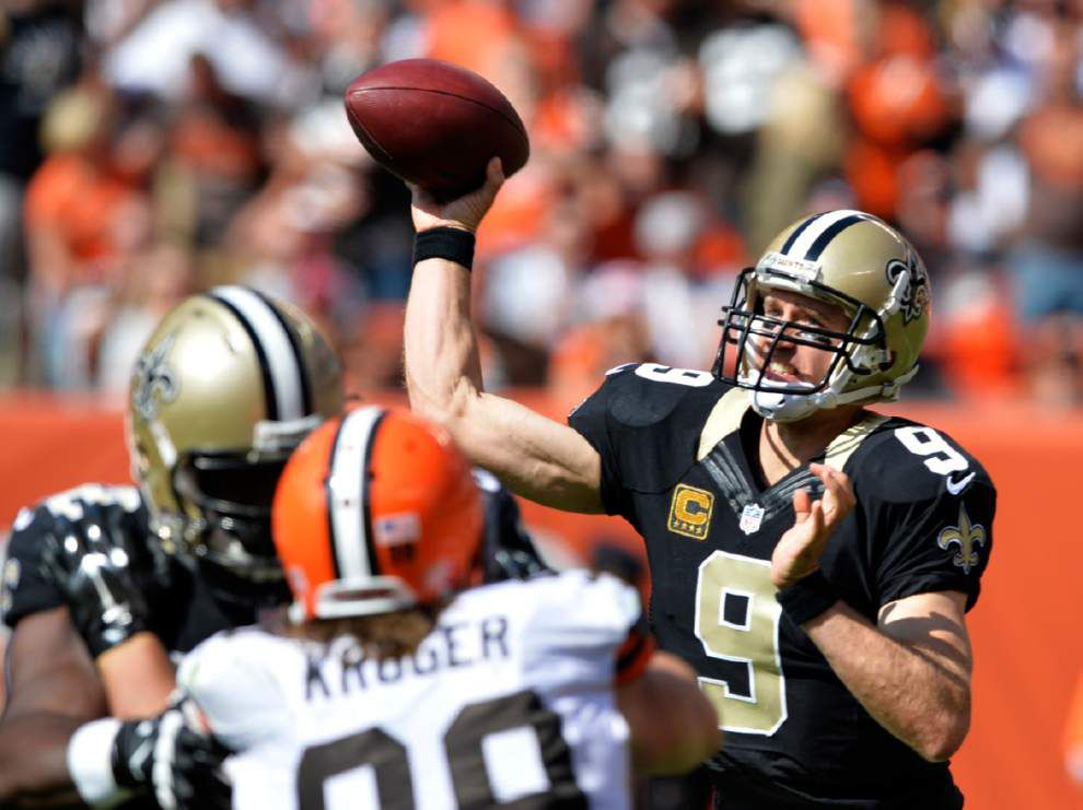 Video: Saints quarterback Drew Brees says team has to bear down and be positive _lowres