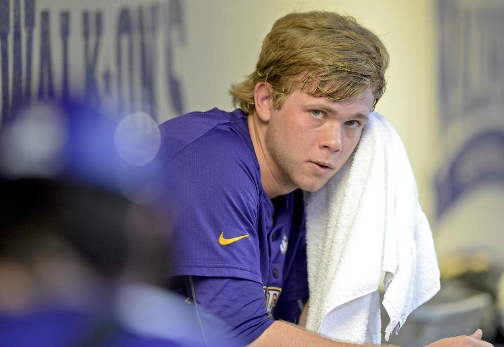 Austin Bain to return to weekend role, LSU continues search for closer and Tigers plan to leave Danny Zardon at second base for now _lowres