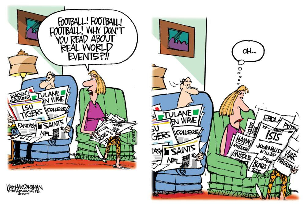 Walt Handelsman for Aug. 26, 2014 _lowres