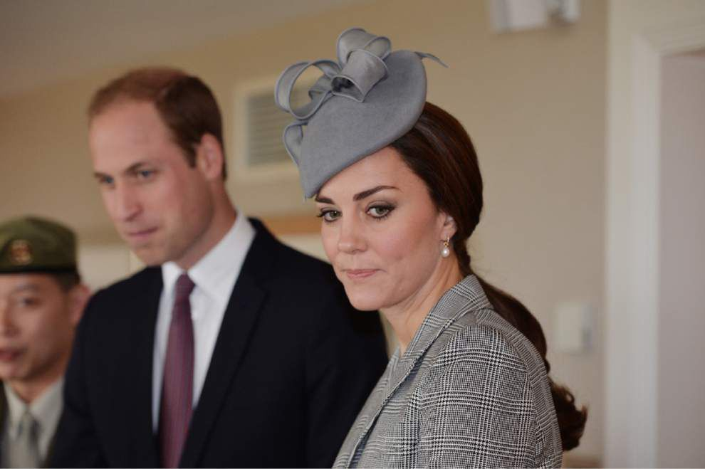 Pregnant Kate back at work after morning sickness _lowres