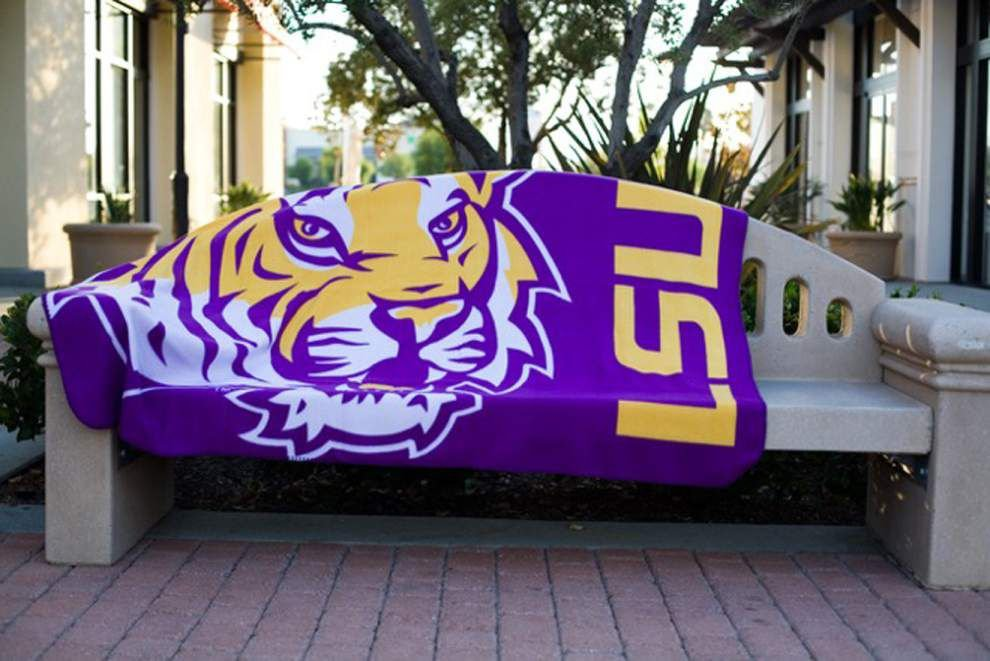 LSU fans can buy with purpose: Blanket purchases benefit homeless _lowres