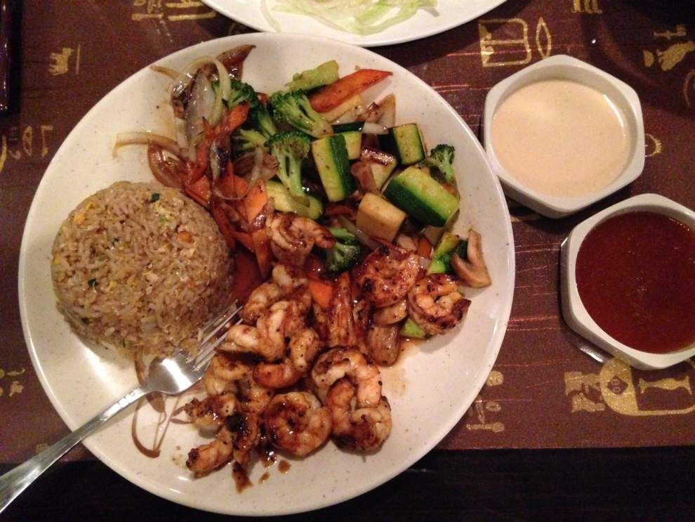 Review: Fuji Sushi - Shake up standard sushi, hibachi meal with golden spider _lowres