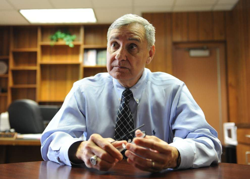 Lafayette schools superintendent Don Aguillard's first day: Proposes new high school, central office reorganization plan _lowres
