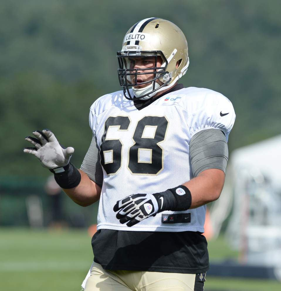 Lelito ready to play at center if Goodwin can't start against Green Bay _lowres