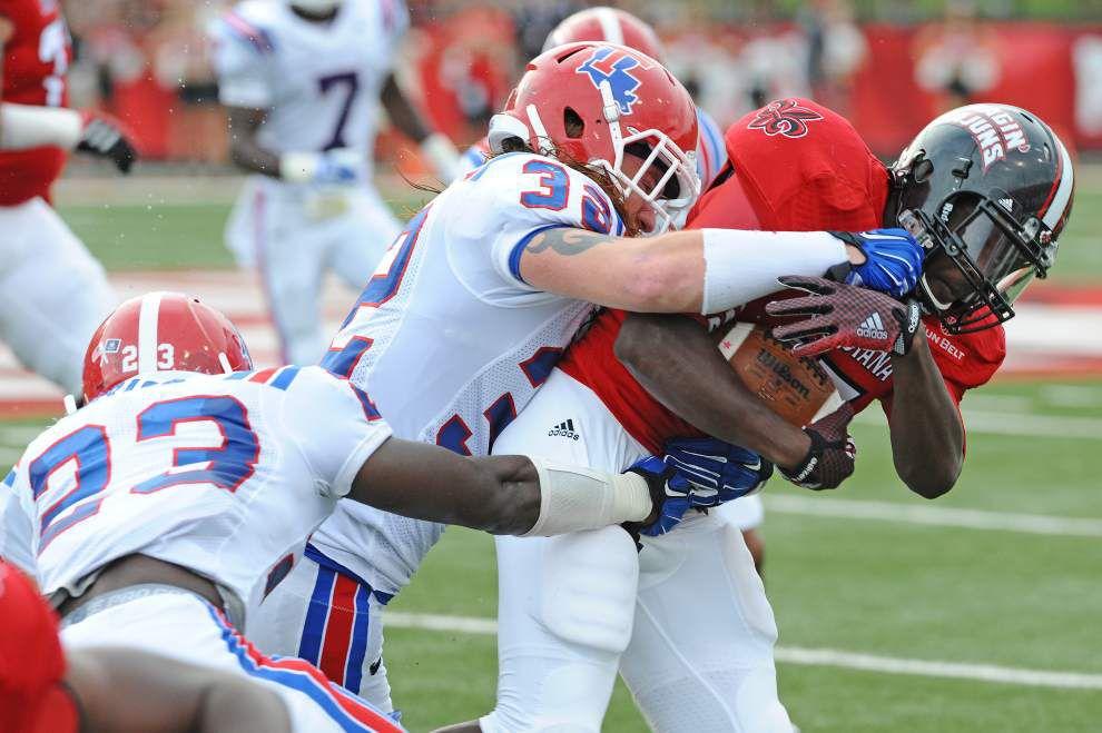 Photos: Louisiana Tech Bulldogs visits Univ. La. Lafayette Ragin' Cajuns _lowres