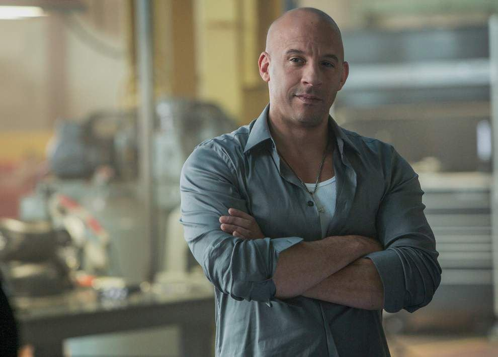 Lots of over-the-top action -- in a good way -- in 'Furious 7' starring Vin Vin Diesel, Paul Walker _lowres