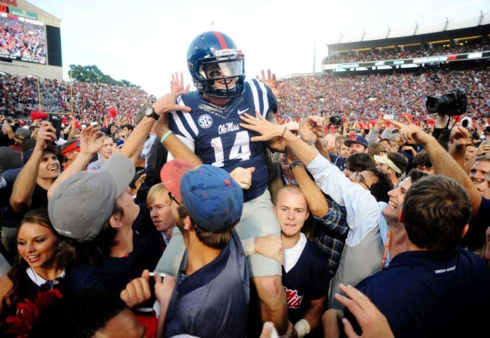 AP college football picks: TCU, Ole Miss, Mississippi State take spotlight _lowres