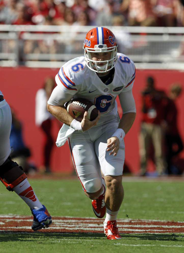 Florida seeks more from its unsettled quarterback situation _lowres