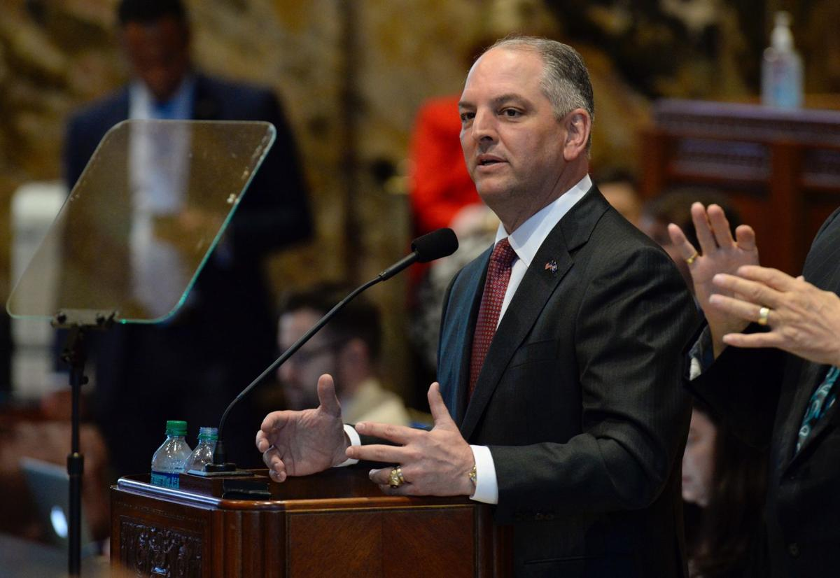 Gov John Bel Edwards Opens Legislative Session Warns