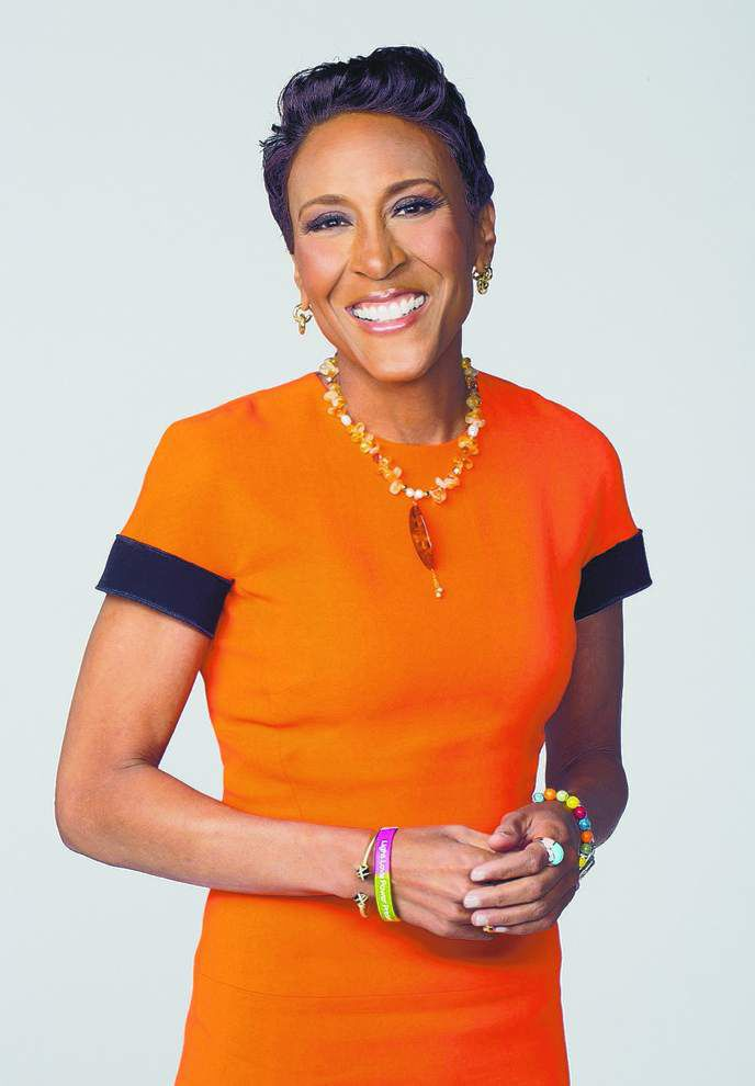 Robin Roberts, ABC host and author, still sees bright side in new memoir _lowres