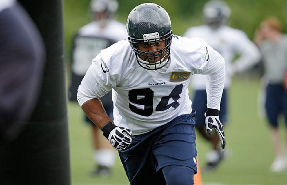 After visiting the Saints, free-agent defensive tackle Kevin Williams says he would prefer to stay in Seattle _lowres