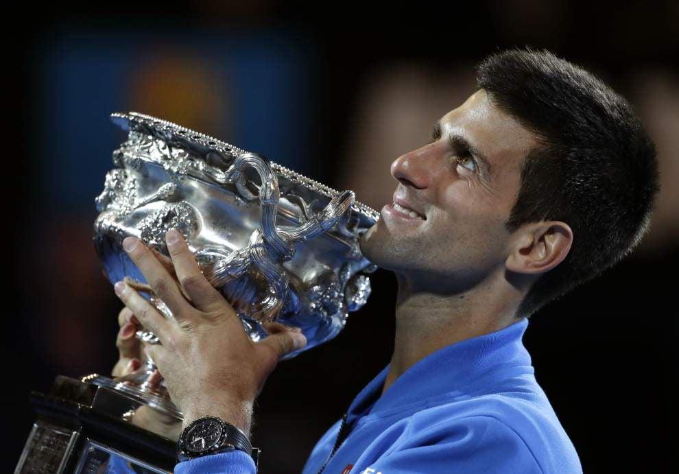 Novak Djokovic wins fifth Australian Open title _lowres