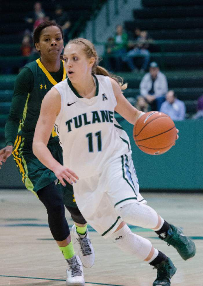 Tulane women host East Carolina _lowres