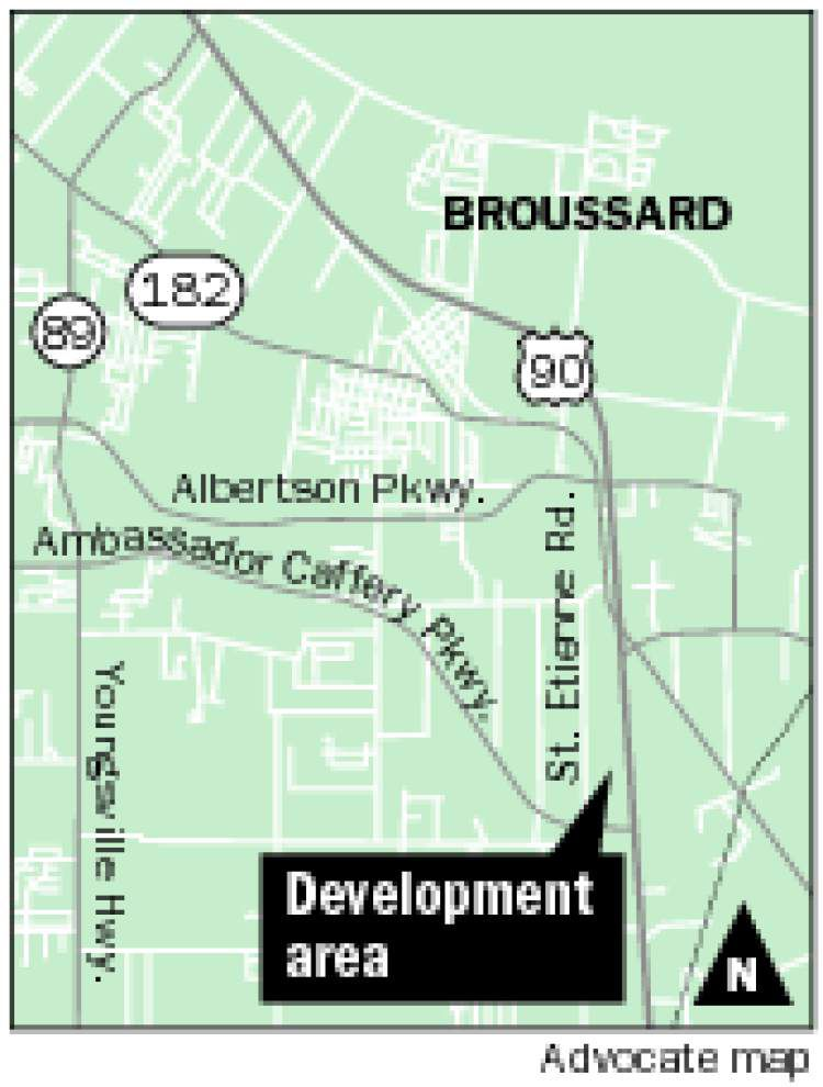Broussard prepares for new major retail center on U.S. 90 _lowres