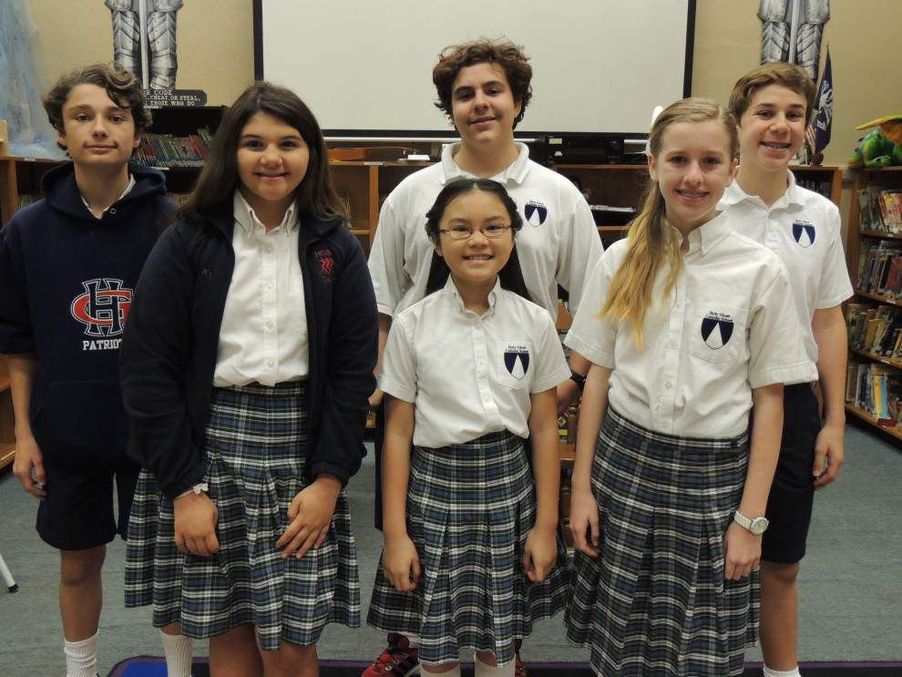 Holy Ghost students qualify for Duke program _lowres