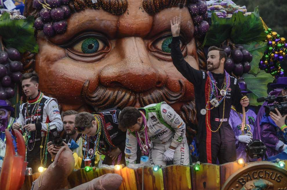 Photos: Uptown parade revelers turn out to party with Bacchus _lowres