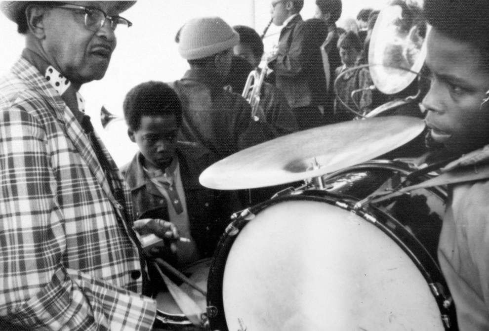 Danny Barker's young recruits kept N.O. jazz tradition alive through rock 'n' roll era, beyond _lowres
