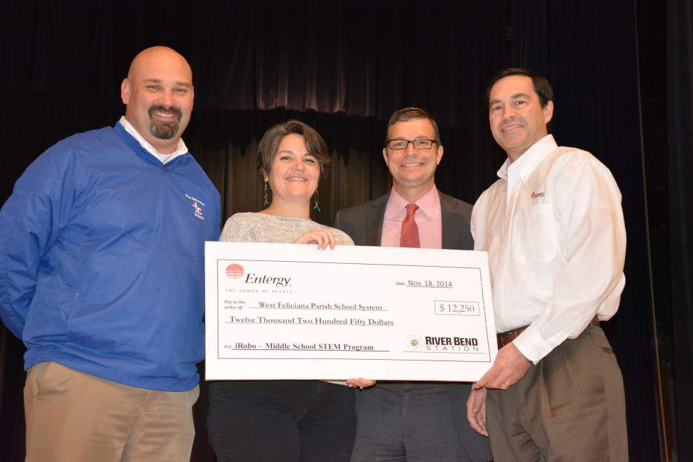 River Bend donates to Feliciana schools _lowres