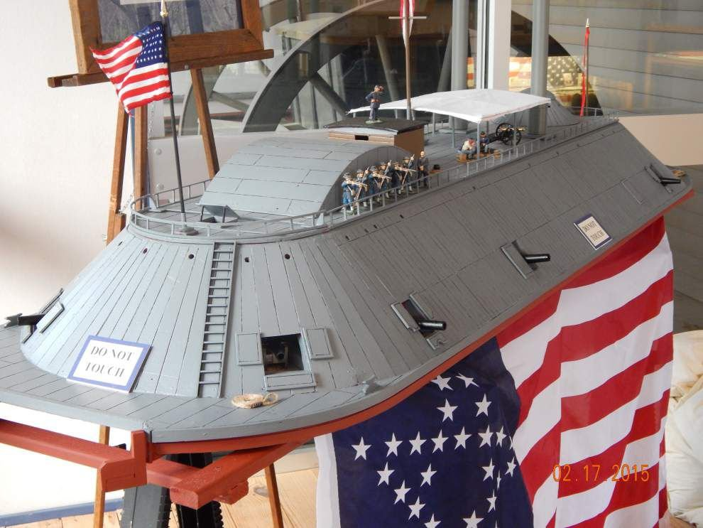 Port Hudson museum gets model of Civil War-era gunboat _lowres