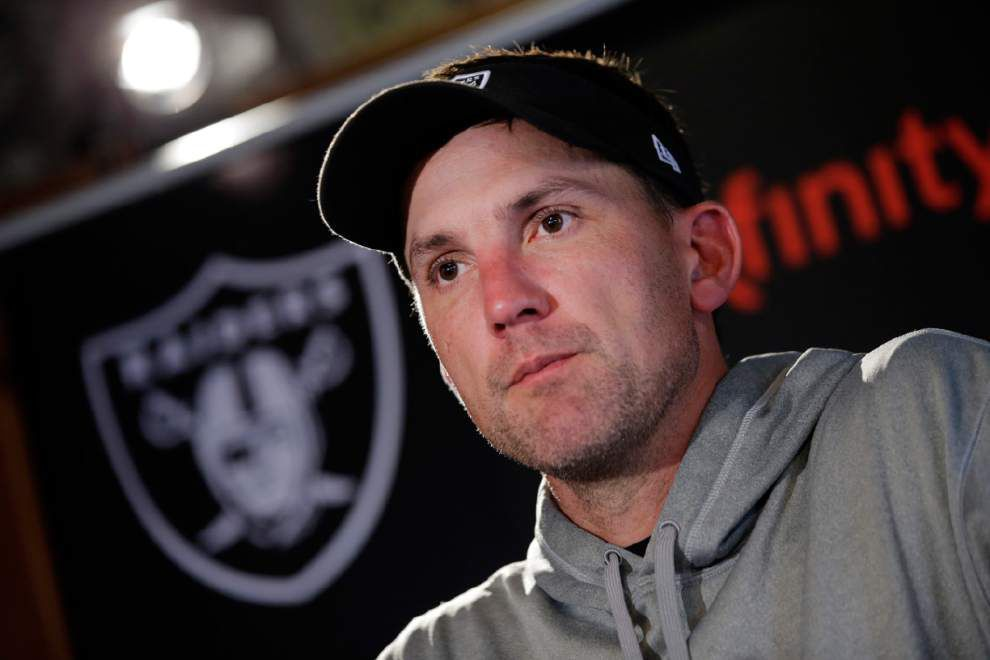 Raiders fire coach Dennis Allen after 0-4 start _lowres