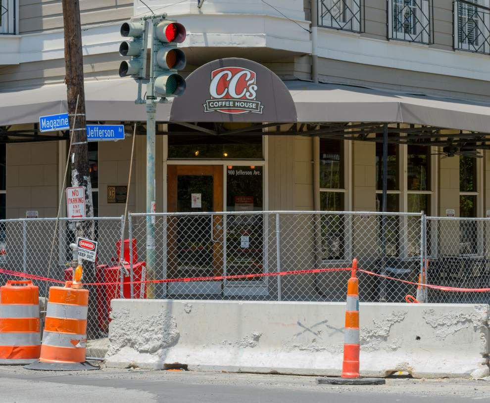 New Orleans Uptown business owners are boiling over about a city drainage project that disconnected water service _lowres