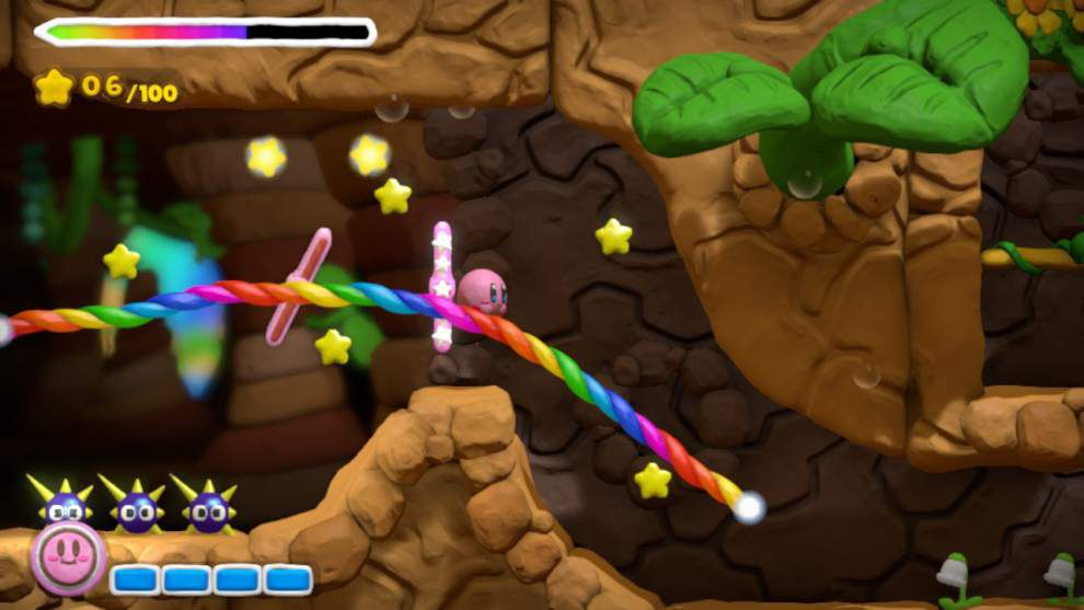 Kirby strikes gold in 'Rainbow Curse' _lowres