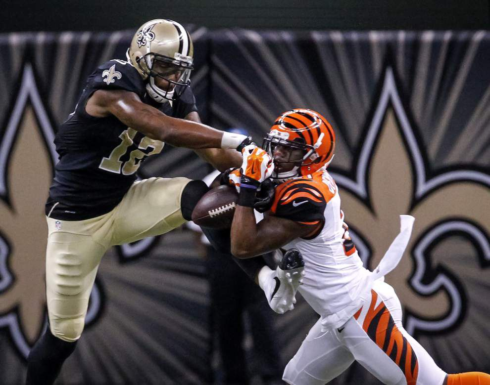 Saints offense fizzles after first possession _lowres