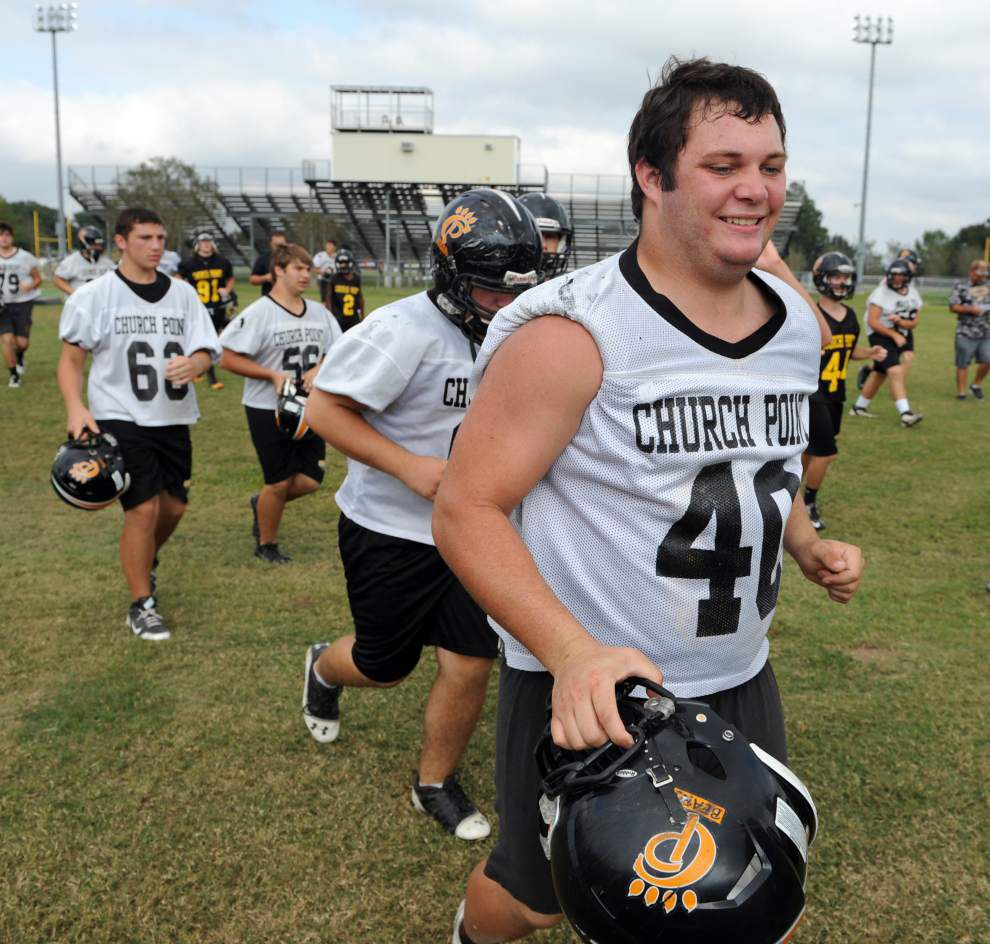 Three-back rushing attack beneficial for Church Point _lowres