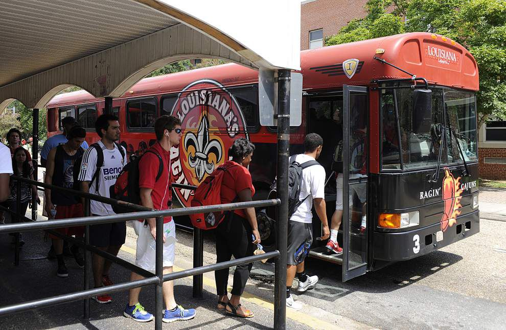 UL-Lafayette, city-parish still hashing out bus deal _lowres