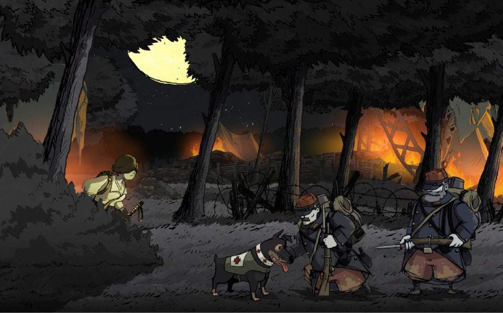 'Valiant Hearts' a grim WWI tribute _lowres