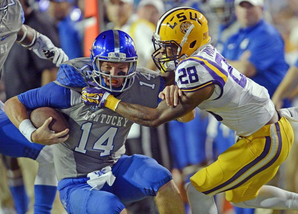 LSU tops Kentucky 41-3 in Tiger Stadium in SEC victory _lowres
