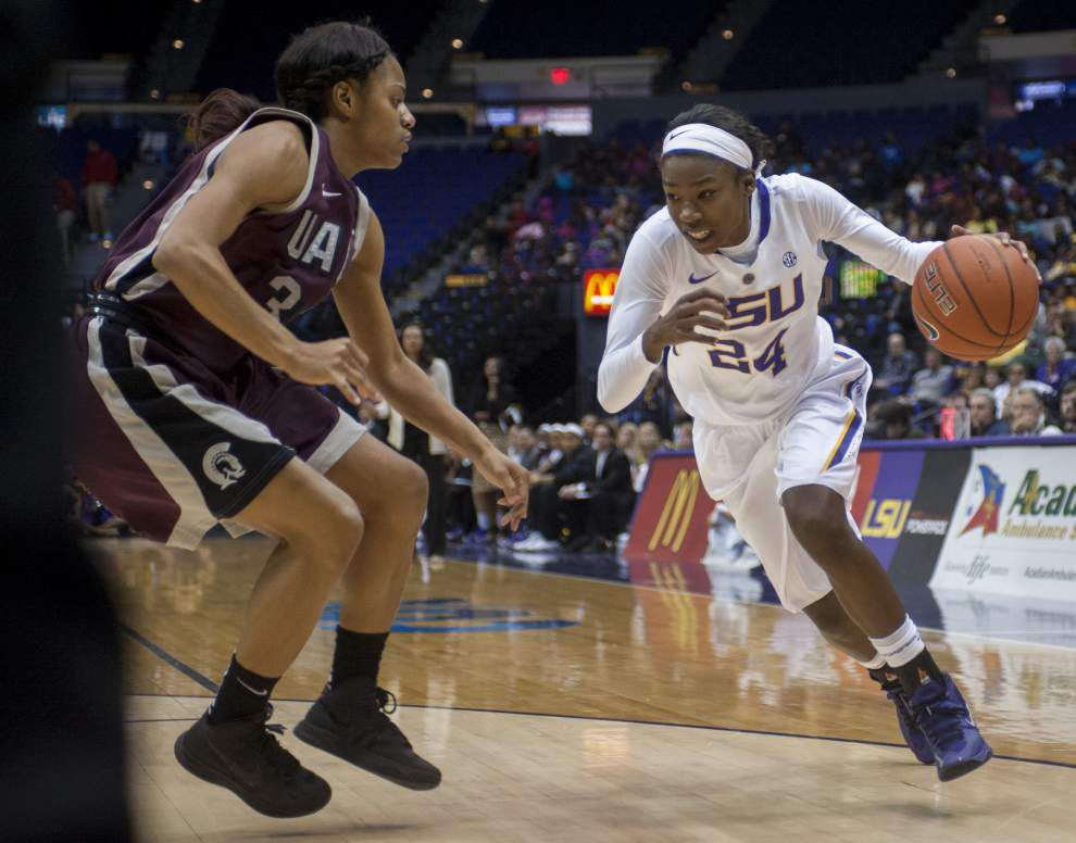 In season opener, Lady Tigers sputter to 70-54 loss to Arkansas-Little Rock _lowres