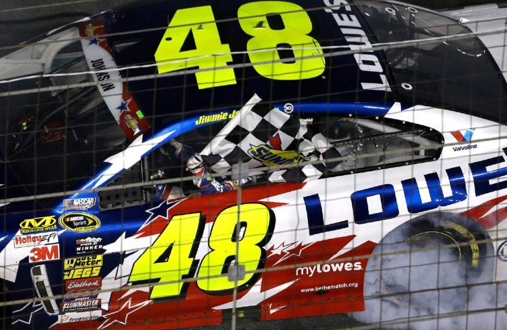 Jimmie Johnson ends drought at Coca-Cola 600 _lowres