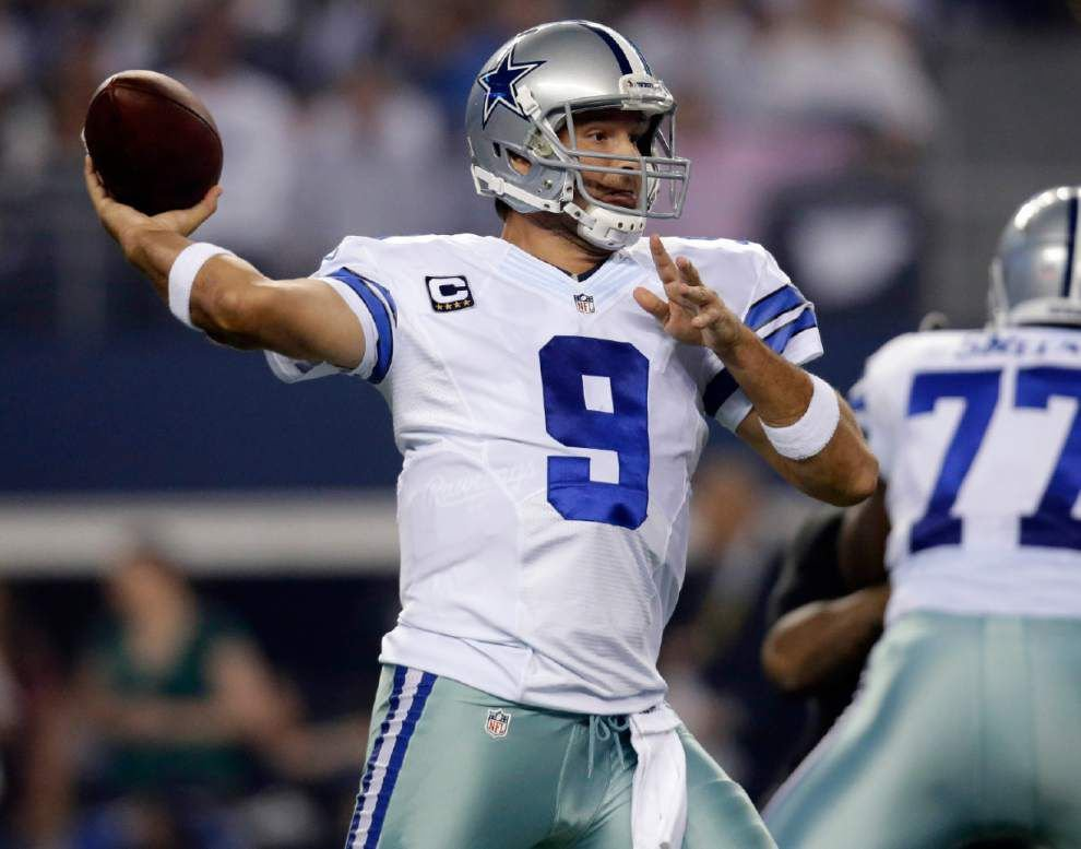 Cowboys' Tony Romo, DeMarco Murray return the favor after last year's blowout in the Superdome _lowres