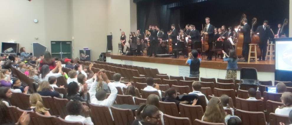 Copper Mill Orchestra 'sings' as part of youth concert series _lowres