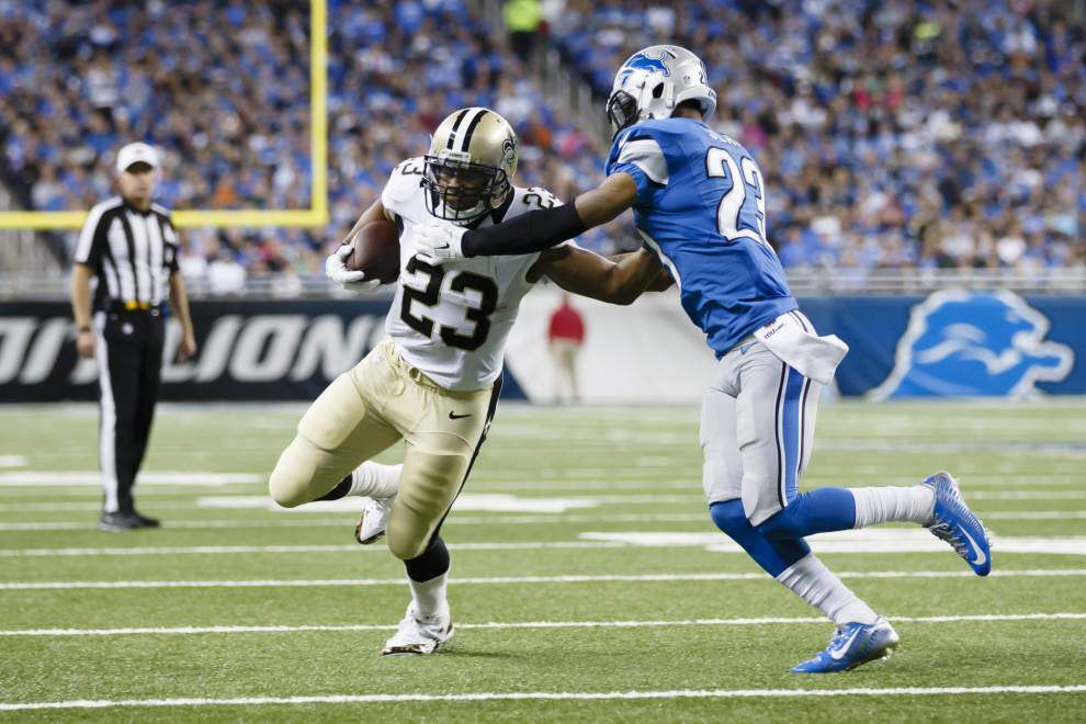 Saints rule out RBs Khiry Robinson, Pierre Thomas against Packers _lowres