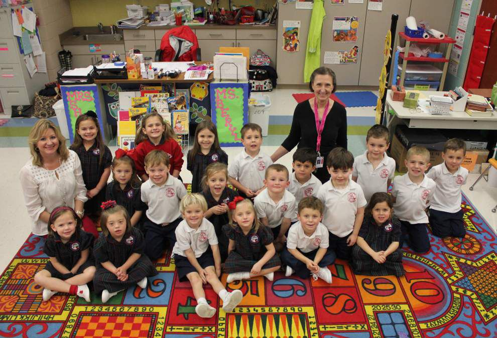 Ascension Advocate's March Classroom of the Month: St. John Primary School prekindergarten _lowres