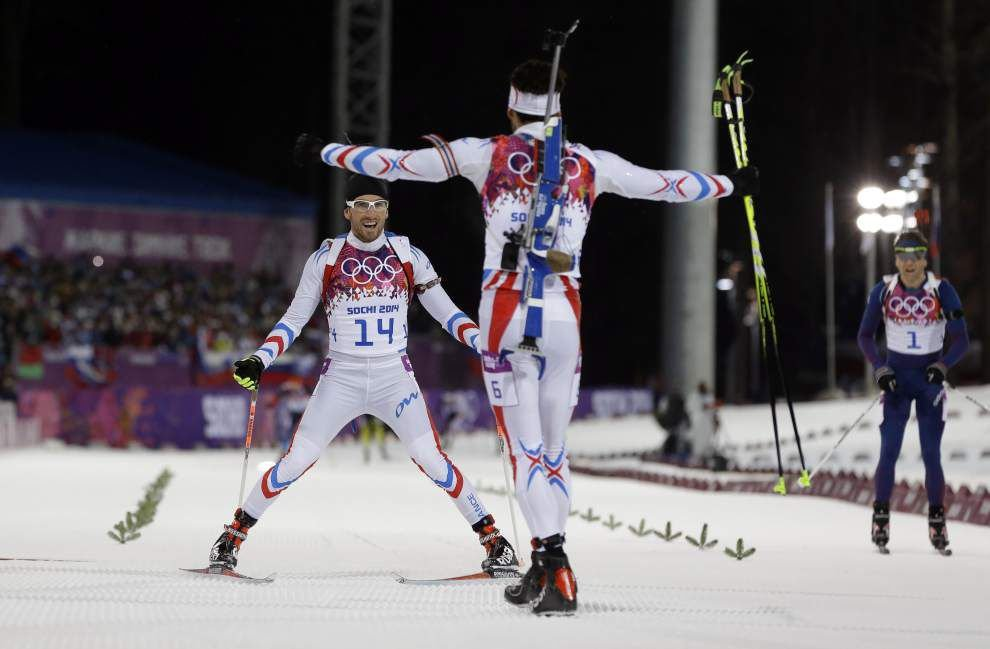 Monday's Highlights at the Sochi Olympics _lowres