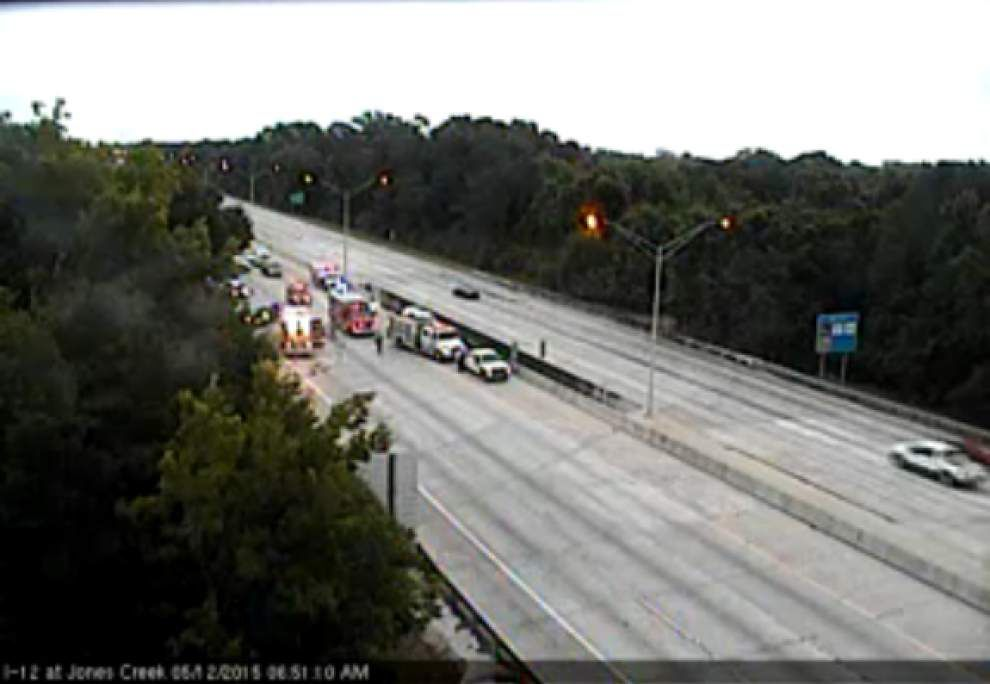 All lanes open I-12 westbound at Sherwood _lowres