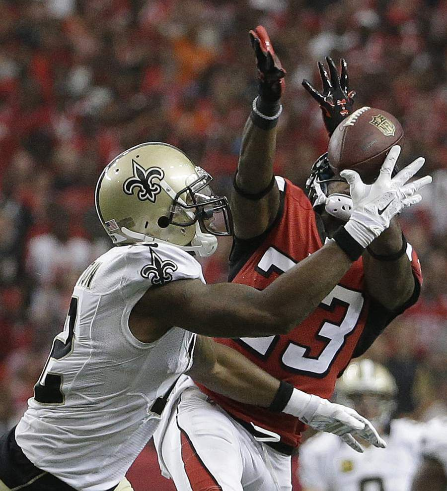 Saints wide receiver Marques Colston not to blame for loss, teammates say _lowres